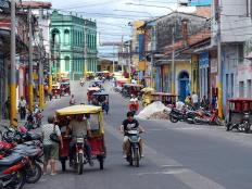 Taxis in Iquitos